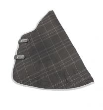 Rhino Original stable Hood Charcoal Grey & White Check with grey 150g