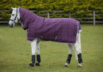 Rhino Pony All-In-One heavy with Vari-Layer Berry/Grey/White check & grey 400gr