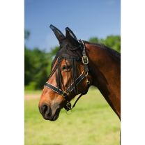 Equi-Theme ear net with fly fringe
