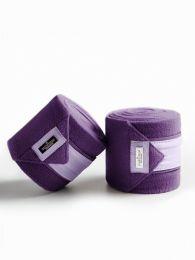 Equestrian Stockholm Lavender fleece bandages
