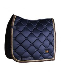 Equestrian Stockholm dressage pad Royal Classic Gold
