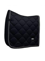 Equestrian Stockholm dressage pad Shiny Black