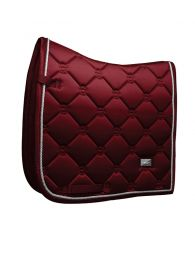 Equestrian Stockholm dressage saddle pad Bordeaux
