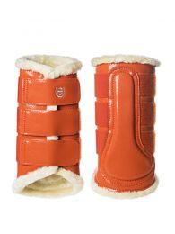 Equestrian Stockholm brushing boots front Brick Orange FW'19
