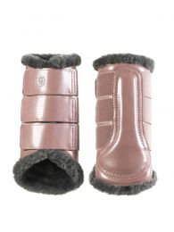 Equestrian Stockholm brushing boots hind Pink