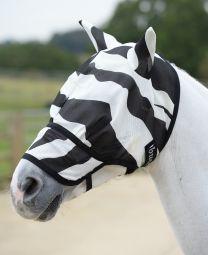 Bucas Buzz-Off Zebra Extended Nose