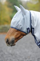 Bucas Buzz-Off Fly Mask grey
