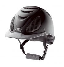 GPA Speed Air Leather Black with Grey