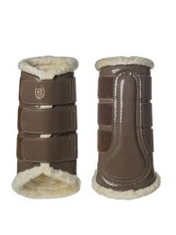Equestrian Stockholm brushing boots Champagne