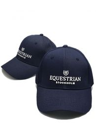 Equestrian Stockholm cap Navy White