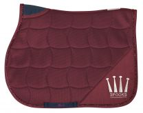 Spooks Saddle Pad Active Bordeaux All Purpose SS'19