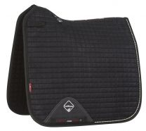 LeMieux Pro-Sport saddle pad Black suede Sparkling