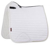 LeMieux Pro-Sport saddle pad White suede Sparkling