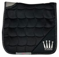 Spooks Saddle Pad Active Black Dressage