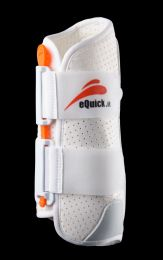 eQuick eKur Dressage Protection Boots Front