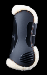 eQuick eLight Tendon Boots Front Fluffy