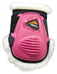 eQuick eLight Fluffy Unicorn Fetlock Boots