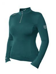 Equestrian Stockholm SS'21 Emerald UV protection shirt