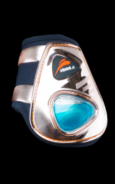eQuick eShock Fetlock boots LIMITED EDITION Rosé Gold