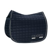 Eskadron Classic SS'19 Cotton Crystal saddle pad Navy