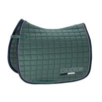Eskadron Classic SS'19 Cotton Crystal saddle pad Seapine Green