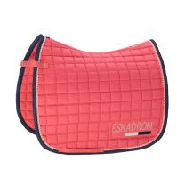 Eskadron Classic SS'19 Cotton Crystal saddle pad Fusion Coral