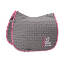 Eskadron Ride Eat Sleep Repeat SS'19 Cotton saddle pad Essential Grey