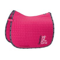 Eskadron Ride Eat Sleep Repeat SS'19 Cotton saddle pad Pinkholic