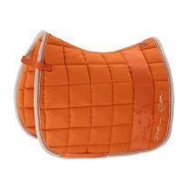 Eskadron Platinum SS'19 saddle pad Big Square Vermillion-orange