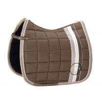 Eskadron Heritage AW'19 Big Square Saddle Pad Deep Taupe