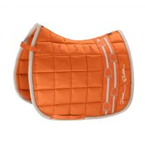Eskadron Platinum SS'19 saddle pad Big Square Glossy Vermillion-Orange