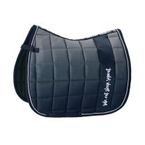 Eskadron Ride Eat Sleap Repeat SS'19 Big Square Glossy saddle pad Navy