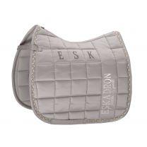 Eskadron Classic AW'19 Big Square Glossy saddle pad Soft Grey