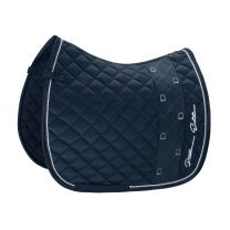 Eskadron Platinum SS'19 saddle pad Glossy Stripe Navy