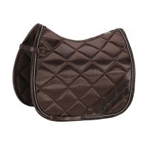 Eskadron SS'20 Classic Sports Satin Diagonal saddlepad Brown