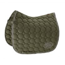 Eskadron Platinum SS'19 saddle pad Cotton Emblem Martini-Olive