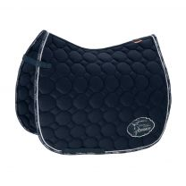 Eskadron Platinum SS'19 saddle pad Cotton Emblem Navy