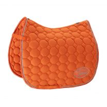 Eskadron Platinum SS'19 saddle pad Cotton Emblem Vermillion-Orange