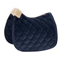 Eskadron Platinum SS'19 saddle pad Velvet Crystal Navy