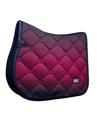 Equestrian Stockholm Jumping Saddle Pad Faded Fuchsia FW'20
