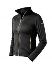 Equestrian Stockholm fleece jacket Black Edition Gold FW'20