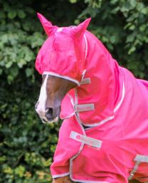 Bucas Buzz-Off Fly Mask Paradise Pink