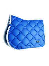 Equestrian Stockholm jumping saddle pad Sapphire