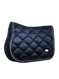 Equestrian Stockholm jumping saddle pad midnight blue