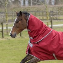 Bucas Irish Turnout Combi Neck Ruby