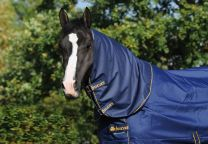 Bucas Irish Turnout Combi Neck Navy 300 gr.