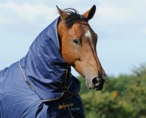 Bucas Irish Turnout Combi Neck Navy