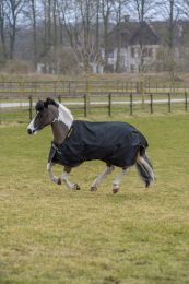 Bucas Irish Turnout Pony Light Black