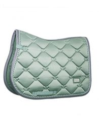 Equestrian Stockholm jumping saddle pad Pistache