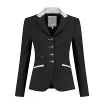 Juuls Black Glamour Competition Jacket with silver details